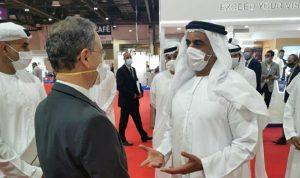 نعمه التقى وزير داخلية الإمارات وشكره على دعم لبنان