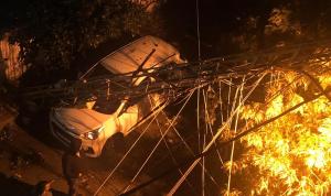 في صيدا… أضرار جسيمة بسبب الأمطار والرياح