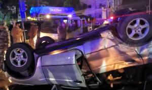 3 جرحى في حادث سير على تقاطع إيليا في صيدا
