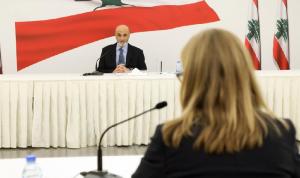 جعجع عرض وسفيرة كندا التطورات السياسية