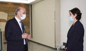 آخر التطورات بين جعجع والسفيرة الفرنسية