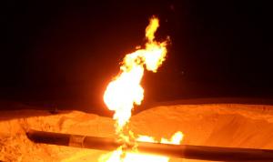 """""""داعش"""" يتبنى تفجير أنابيب الغاز بين مصر وإسرائيل"""