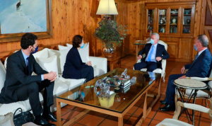 الأوضاع العامة بين فرنجية والسفيرة الفرنسية
