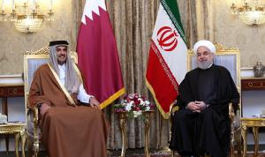 أمير قطر لروحاني: لاستئناف الحوار بين دول الخليج وإيران