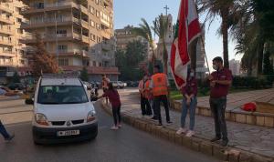 بمبادرة من أنطون صحناوي… حواجز محبة وتوزيع كمامات في طرابلس