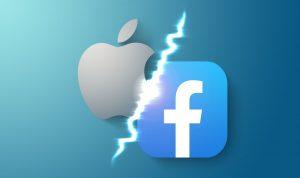 ميزة جديدة تفجر معركة شرسة بين فيسبوك وأبل