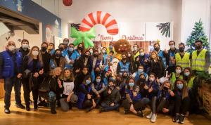 """مؤسسة رينه معوض تفتتح و""""LIVE LOVE"""" سوق الميلاد في أسواق بيروت"""