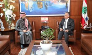 المستجدات بين إبراهيم والقنصل السعودي