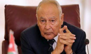 أبو الغيط: القضية الفلسطينية تحظى بإجماع عربي شامل