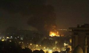 صواريخ تستهدف السفارة الأميركية في بغداد