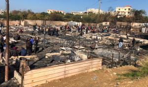 """حرق مخيم بحنين… إشكال فردي أم """"قلوب مليانة""""؟"""