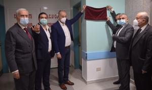 افتتاح قسم لكورونا في مستشفى سبلين