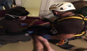 انقاذ امرأة محتجزة داخل شقتها في غادير