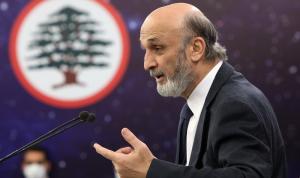 """جعجع: """"جماعة"""" عون و""""الحزب"""" المشكلة الأساسية في لبنان"""