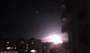 إسرائيل استهدفت سوريا فجرًا من الأجواء اللبنانية (فيديو)