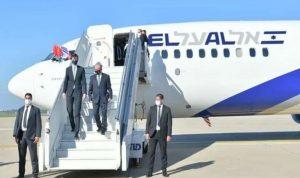 أول رحلة إسرائيلية تهبط في مطار الرباط