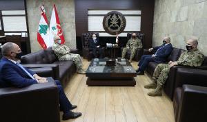 قائد الجيش عرض وسفير النمسا علاقات التعاون