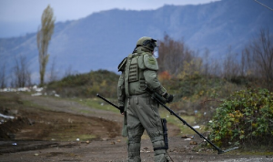مقتل ضابط روسي في قره باغ