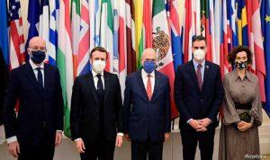 مسؤولون فرنسيون وأوروبيون في العزل