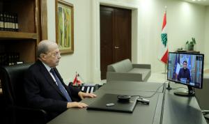 عون: معركتنا ضد الفساد مصيرية للبنان… لا تتخلّوا عن بلاد الأرز!