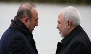 طهران: تشاووش أوغلو أكد لظريف احترام إردوغان لسيادة إيران