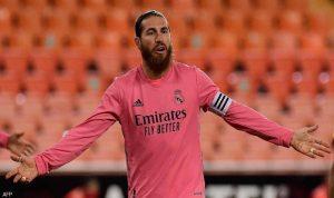 """""""ريال مدريد"""" يعلن إصابة راموس بكورونا"""