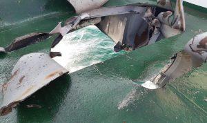 التحالف: ارتطام لغم حوثي بسفينة تجارية في البحر الأحمر