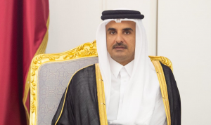 أمير قطر يحضر القمة الخليجية في السعودية