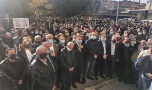 اعتصام في زحلة دعما لتمديد عقد الكهرباء