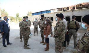 عكر: الثقة بالمؤسسة العسكرية هي الضمانة لقيام لبنان