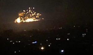 """غارات إسرائيلية على مواقع لـ""""الحرس الثوري"""" و""""الحزب"""" في سوريا"""