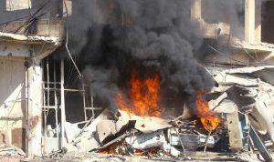 مقتل 18 شخصا بانفجار لغم بريف حماة السورية
