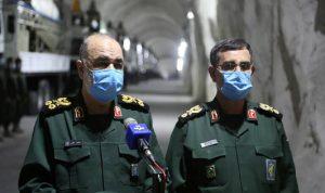 الحرس الثوري الإيراني يكشف عن أحد أهداف صواريخه البالستية