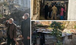 خير تفقد القبة وعاين أضرار فيضان النهر الكبير في سهل عكار