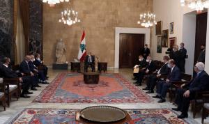 عون: لمعالجة النصوص التي تحدّد صلاحيات الوزراء