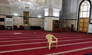 دائرة أوقاف بعلبك مددت قرار إقفال مراكزها والمساجد