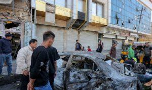 عملية انتحارية وسط بغداد.. سقوط قتلى وجرحى (فيديو)