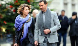 إصابة الأسد وزوجته بكورونا