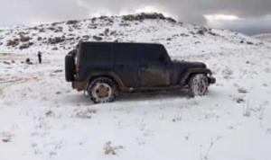 لبنان في إقفال تام… وابن الوزير على الثلج! (صورة)