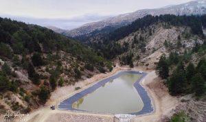 بحيرة اصطناعية لري الأراضي الزراعية في أعالي فنيدق
