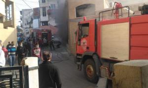اندلاع حريق بمسجد في الغازية