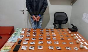 توقيف مروج مخدرات في الحدث بالجرم المشهود
