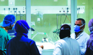توسيع القدرة الإستيعابية لقسم كورونا في هذا المستشفى
