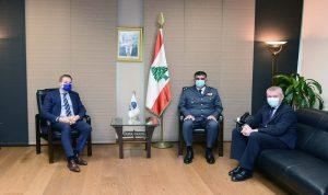 عثمان عرض مع وفد من سفارة الاتحاد الاوروبي مجالات التعاون