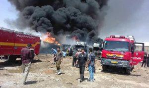 انفجار في منشأة بتروكيماويات بمدينة خرسان شمالي إيران