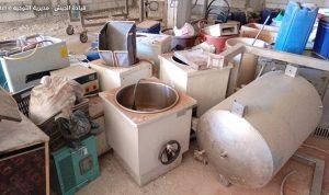 ضبط مصنع للكبتاغون والمخدرات في بلدة بوداي -البقاع