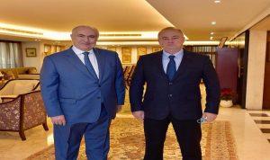 مخزومي بحث مع روداكوف في أوضاع لبنان والمنطقة