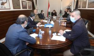 اجتماع في وزارة الدفاع حول التطورات في مرفأ بيروت