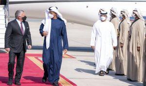 العلاقات الثنائية بين ولي عهد أبو ظبي وملك الأردن