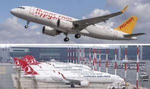 هبوط اضطراري لطائرة ركاب في إسطنبول